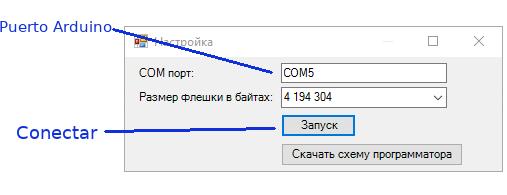 conectar spi arduino - 25q64